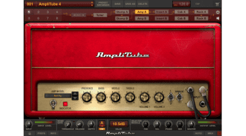 IK Multimedia Amplitube 4 PC Mac GUI Amp