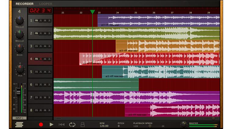 IK Multimedia Amplitube 4 PC Mac Recorder DAW