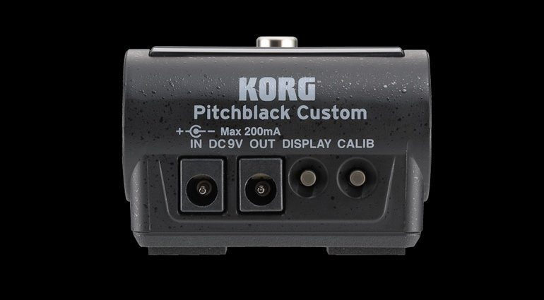 Korg Pitchblack Custom Back