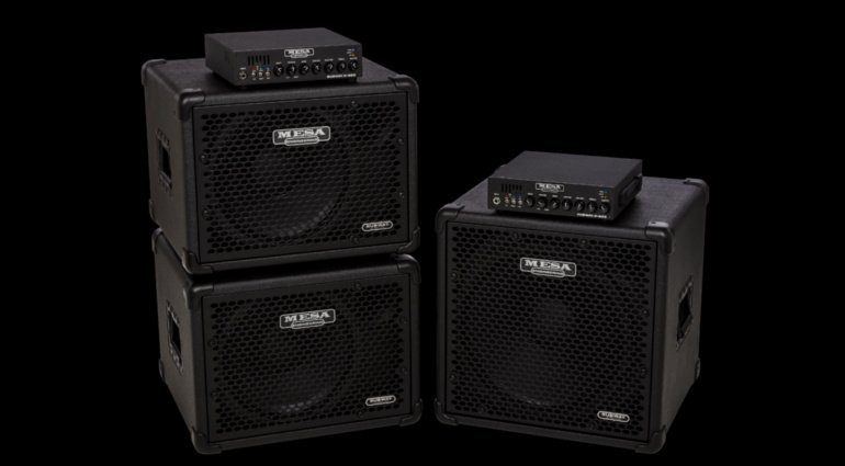 Mesa Boogie Subway Bass D-800 1x12 1x15 Cabinets Box