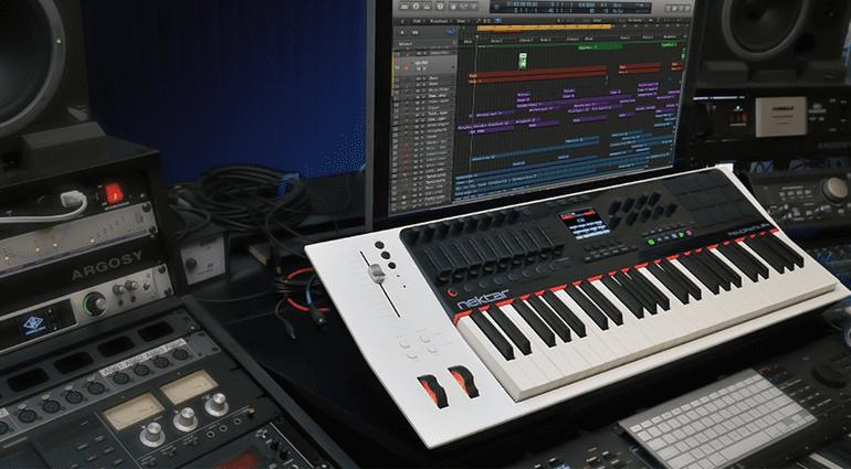 Nektar Panorama Logic X 10.2 Update Controller Keyboard