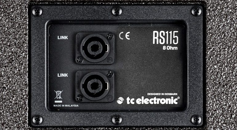 TC Electronic RS115 Bassbox Eminence Back