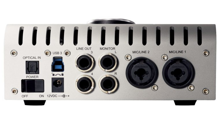 Universal Audio Apollo Twin DUO Interface USB3 Back