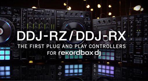 Pioneer DDJ-RZ, DDJ-RX und rekordbox dj