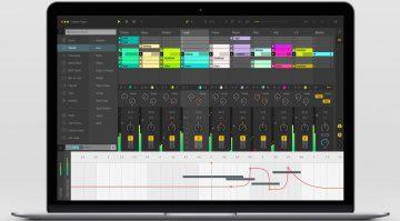 Ableton Live 10 GUI Mockup Main