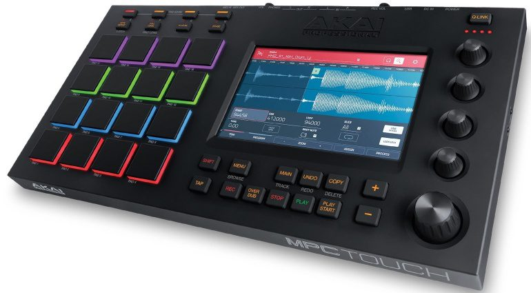 Akai Professional MPC Touch Top View