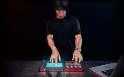 Akai Professional MPC Touch in Action Front