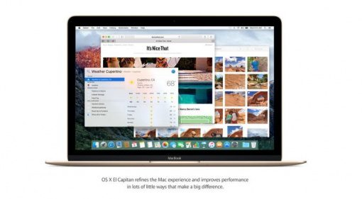 Apple OSX 10.11.1 El Capitan Update