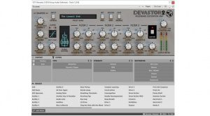 D16 Devastor 2 Plug-in Multiband Diode Clipping Distortion Preset Browser