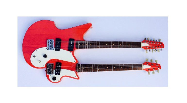 Flux Guitars Magnetic Double Neck Top