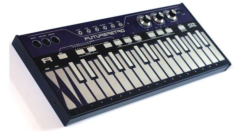 Future Retro FR-512 Touchplate Keyboard MIDI CV Controller Front