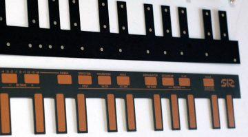 Future Retro FR-512 Touchplate Keyboard MIDI CV Controller Halbleiter
