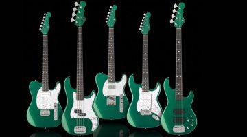 G&L ASAT Gitarre Bass 35th Anniversary Juliläum Emerald Green