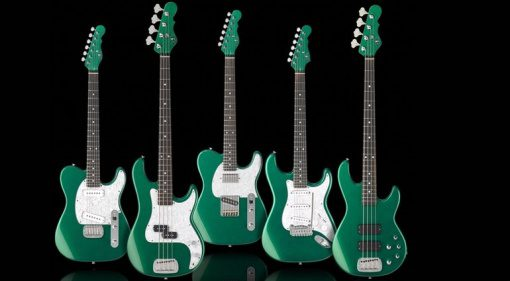 G&L ASAT Gitarre Bass 35th Anniversary Juliläum Emerald Green