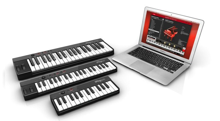 IK Multimedia iRig Keys 25 37 Pro USB MIDI Keyboard Controller Mac