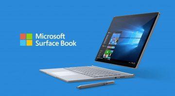 Microsoft Surface Book Detachable Front Laptop