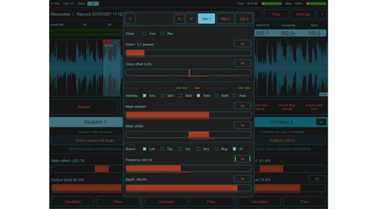 Motion Soundscape FildScaper GUI 2