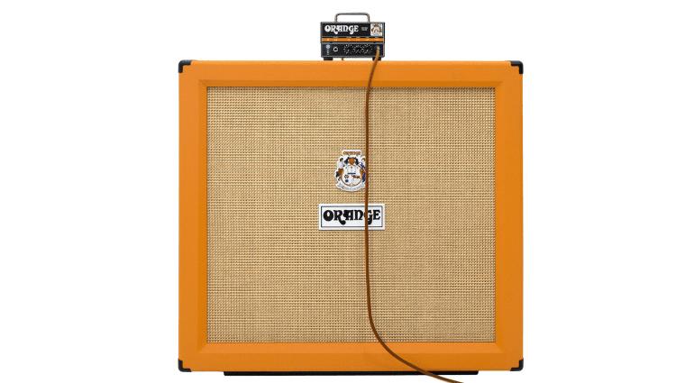 Orange Micro Dark Topteil auf Box