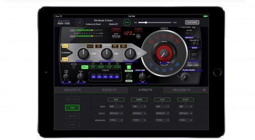 Pioneer RMX-1000 für iPad