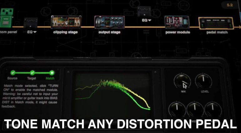 Positive Grid BIAS Pedal Tone Match