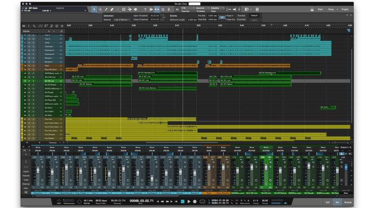 Presonus Studio One 3 Update 3.1 GUI