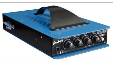 Radial Engineering Headload Prodigy Attenuator Front schräg