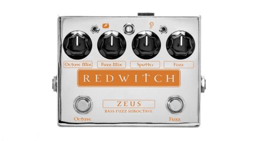 Red Witch Zeus Fuzz Suboctave Pedal Effekt Front