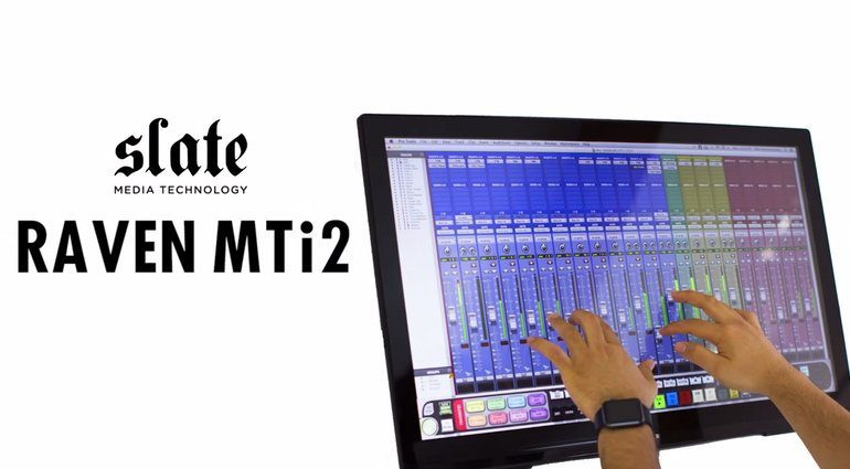 Slate Media Technology Raven MTi2 3.0 Multi Touch Controller DAW 2