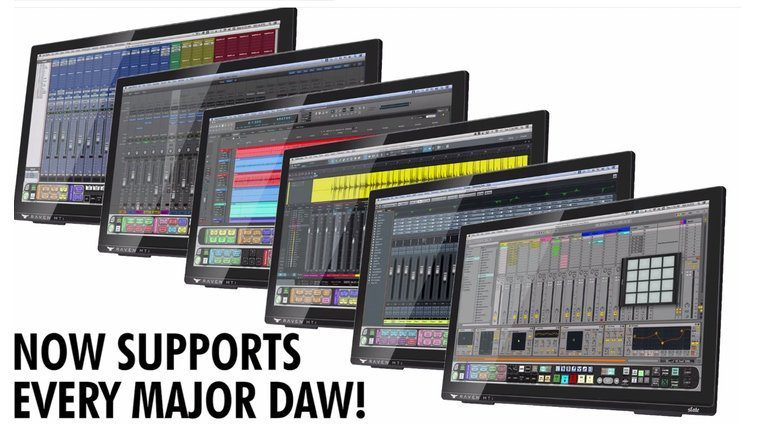 Slate Media Technology Raven MTi2 3.0 Multi Touch Controller DAW 3