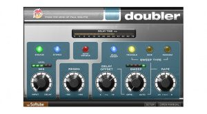 Softube Fix Doubler Plug-In Plugin GUI