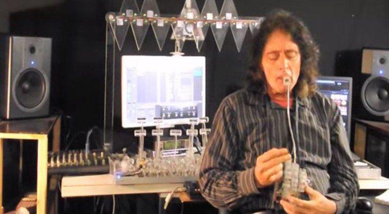 Sonic Manipulator Claudeatron MK4 expressive MIDI Controller Mund