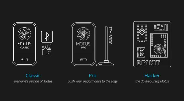 TZM Creative Labs Motus Motion Controller Versions Kickstarter