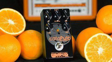 Wampler Pedals cataPulp Pedal Orange Front