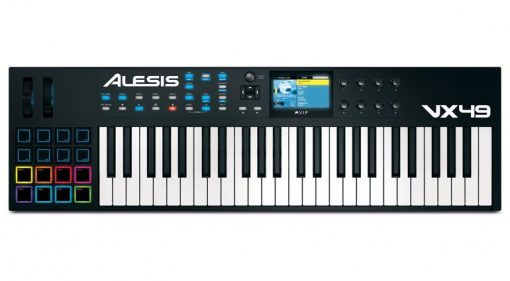 Alesis VX49 Controller Keyboard Top