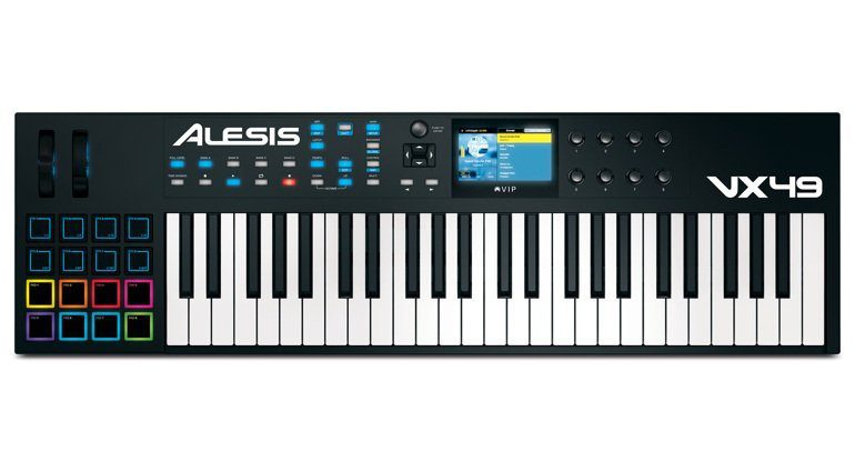 Alesis VX49 Controller Keyboard Top