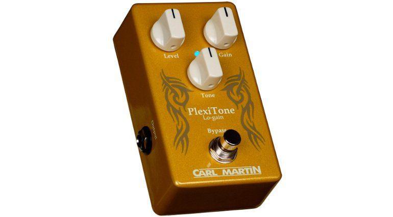 Carl Martin Plexitone Low Gain Overdrive Effekt Pedal Front
