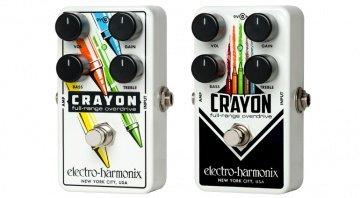 Electro Harmonix Crayon Overdrive Pedal FX