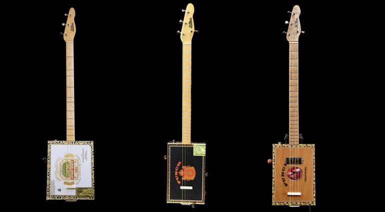 St. Blues Cigar Box Guitars