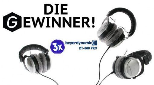 Gewinner Gewinnspiel-Gearnews-Beyerdynamic-DT-880-Pro neu