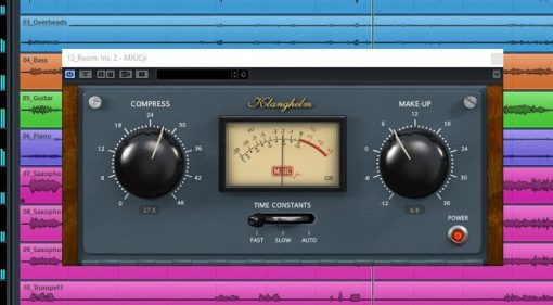 Klanghelm MJUC jr. Freeware Kompressor Compressor Plug-In