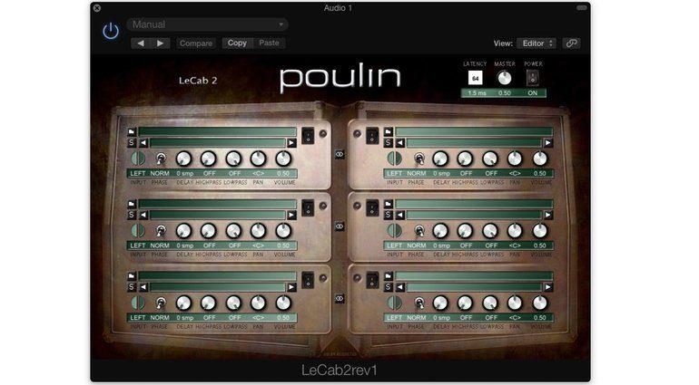 LePou Poulin LeCab IR Boxen Simulation Plug-In