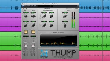 Metric Halo Thump Trigger Subharmonic Plug-in