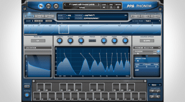 PPG Phonem Vocal-Synthesizer Mainpage