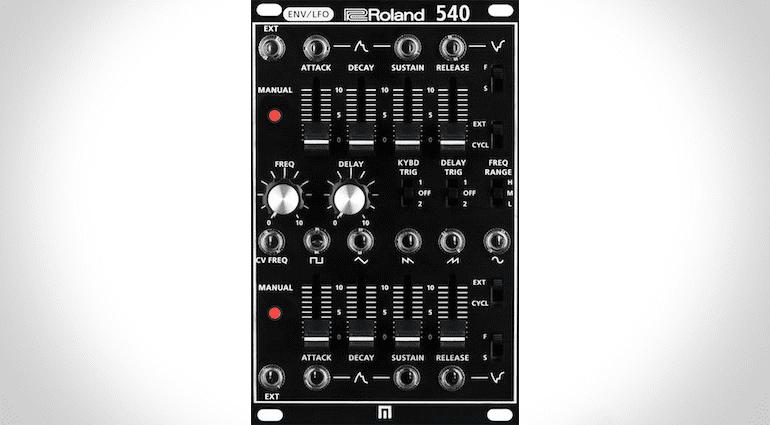 Roland SYSTEM-500 540er Modul, dual ADSR-Generator und LFO