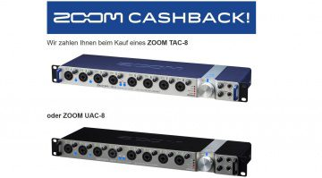 Sound Service GmbH Zoom TAC-8 UAC-8 Interface Cash Back Aktion