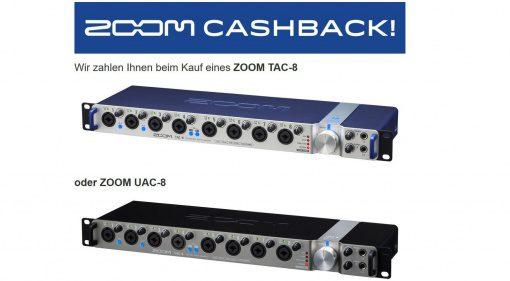 Sound Service GmbH Zoom TAC-8 UAC-8 Interface Cash Back Aktion