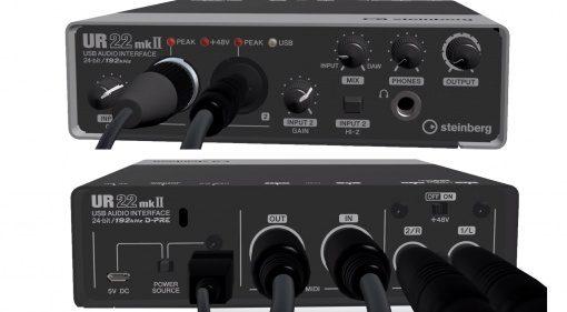 Steinberg UR22 MK II USB Audio Interface