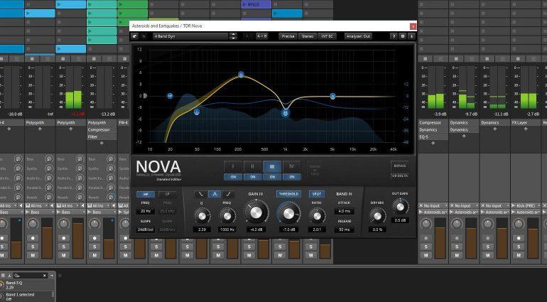 Tokyo Dawn Labs TDR Nova Plug-In Dynamic EQ Equalizer