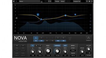 Tokyo Dawn Labs TDR Nova Plug-In Dynamic EQ Equalizer GE Gentlemans Edition