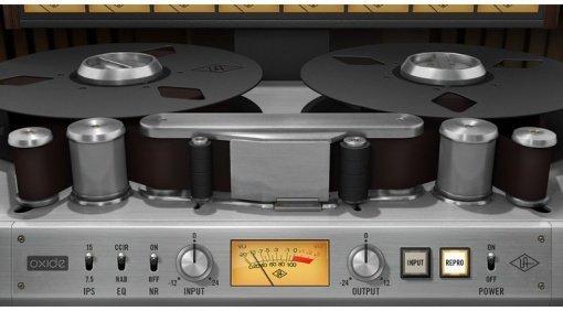 Universal Audio UAD Apollo Oxide Tape Recorder Saturation Plug-In DSP